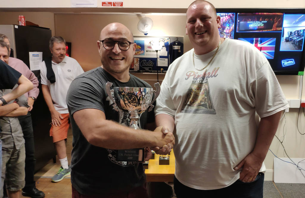 Winner of the UK Pinball Classic 2019, Craig Pullen