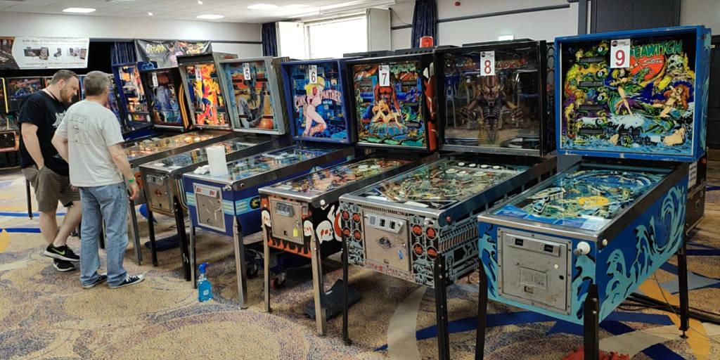 The UK Pinball Classic machines