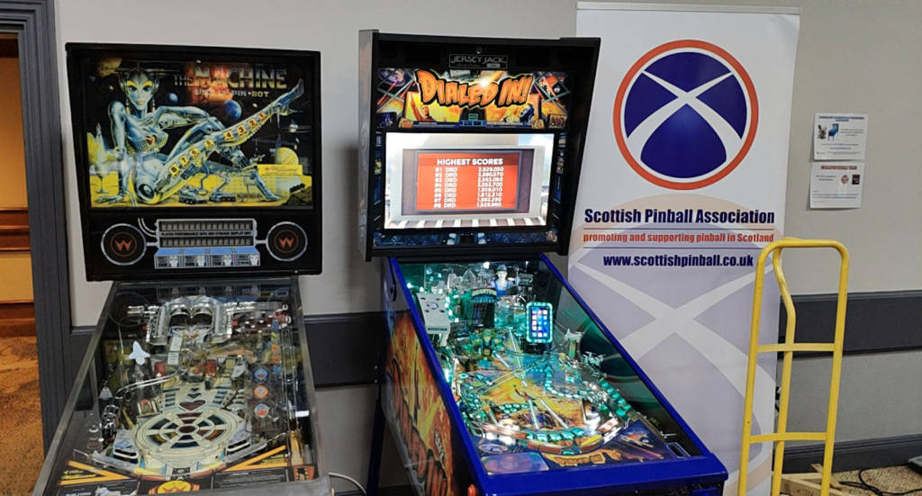 The Scottish Pinball Association are represented