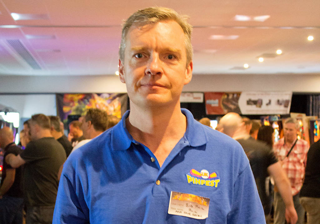 UK Pinfest organiser, Philip Murphy