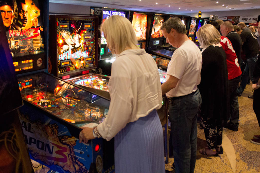 Playing the free play machines