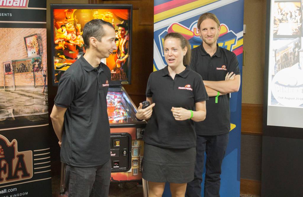 Team Pinball - Janos Kiss, Otília Pasaréti and Romain Fontaine