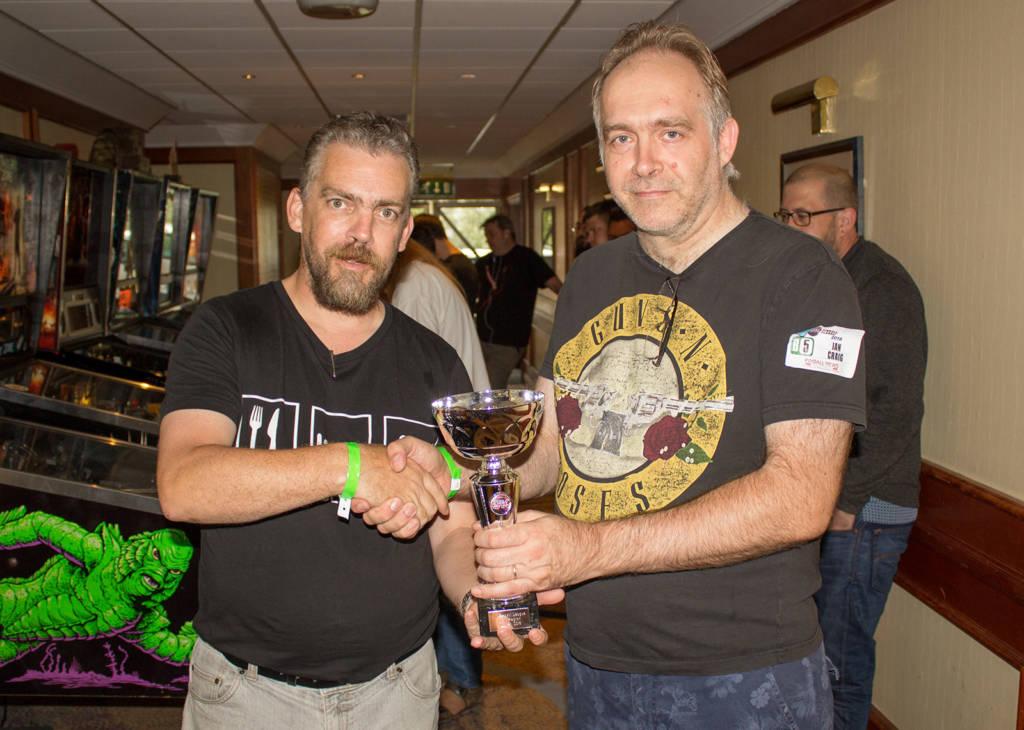 Winner of the Irish region, Ian Craig