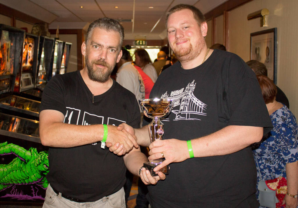 Winner of the London & South-East region, Matt Vince