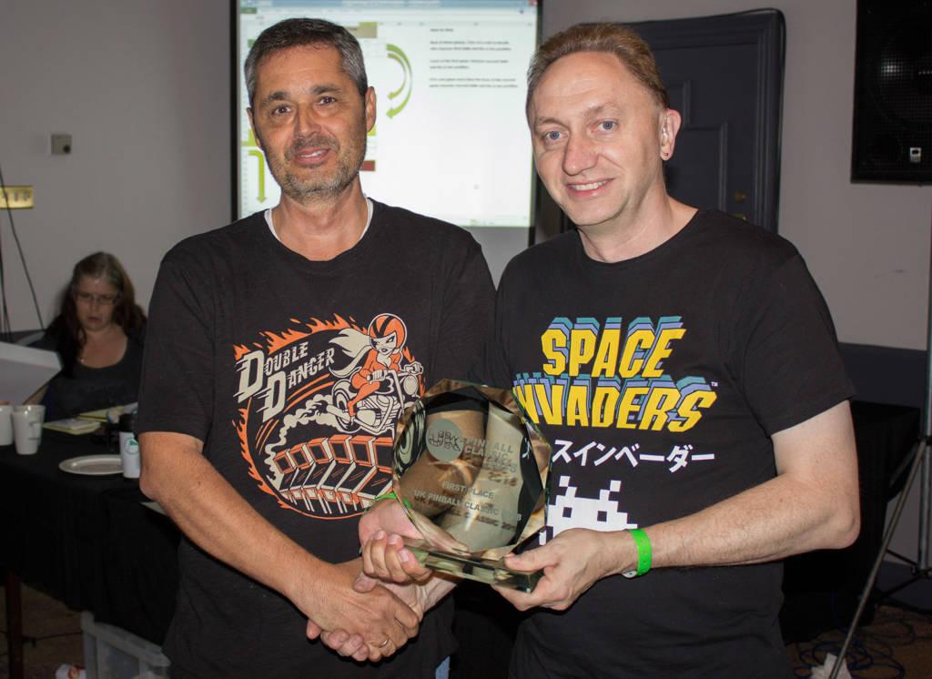 Winner of the UK Pinball Classic 2018, Rafael Madedo