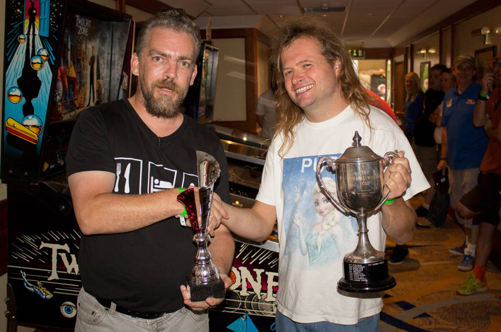 Andrew Foster wins the UK Pinball League final for 2018 and gets to keep the Pinball Wizard trophy for a third consecutive year