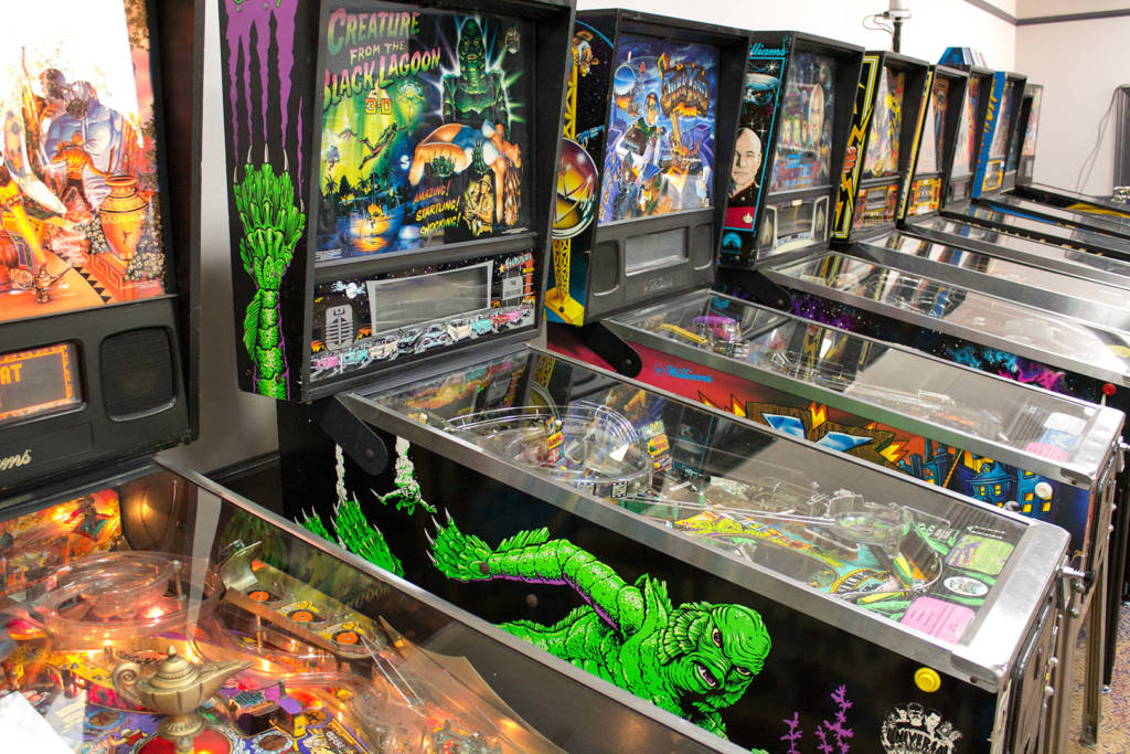 More of the pinballs at UKPinfest 2019