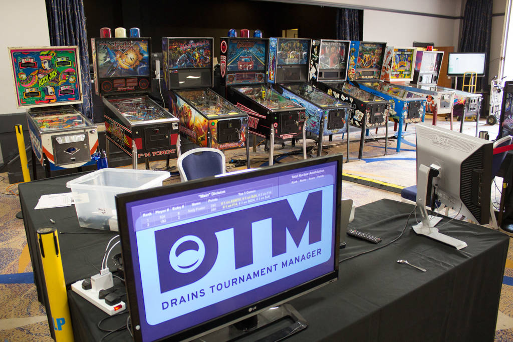 The DTM system is being use to run the main tournament