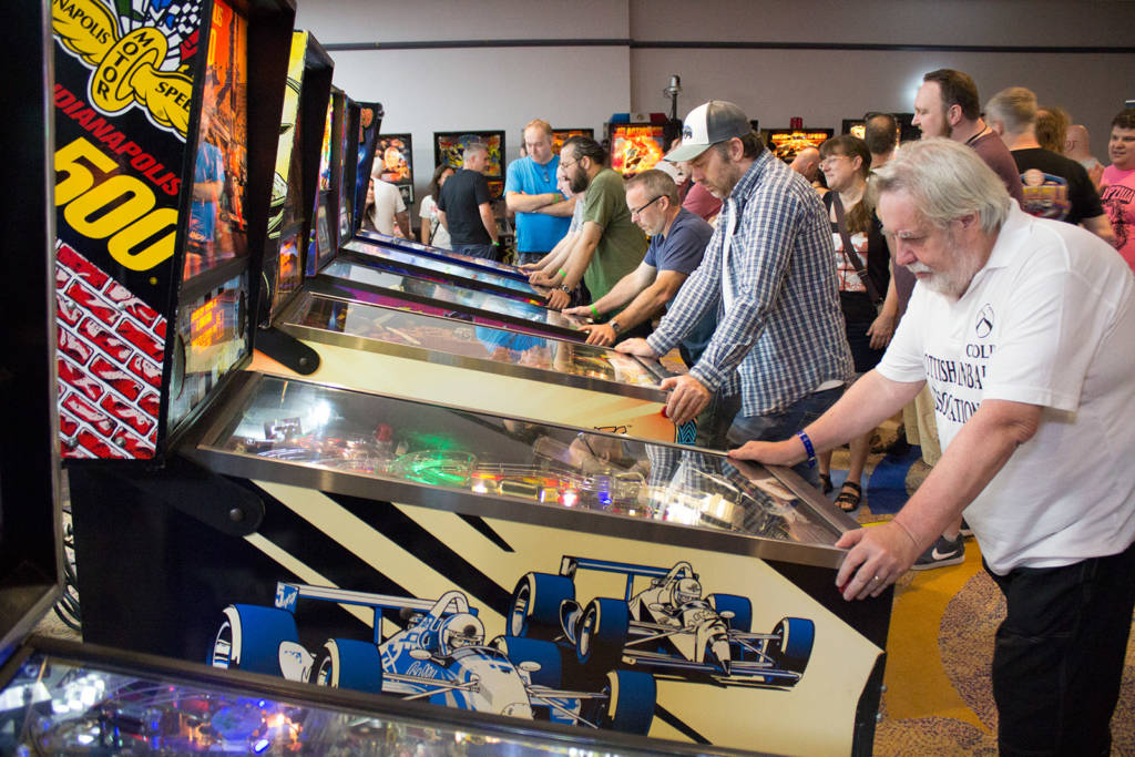 Machines for the UK PInball League finals