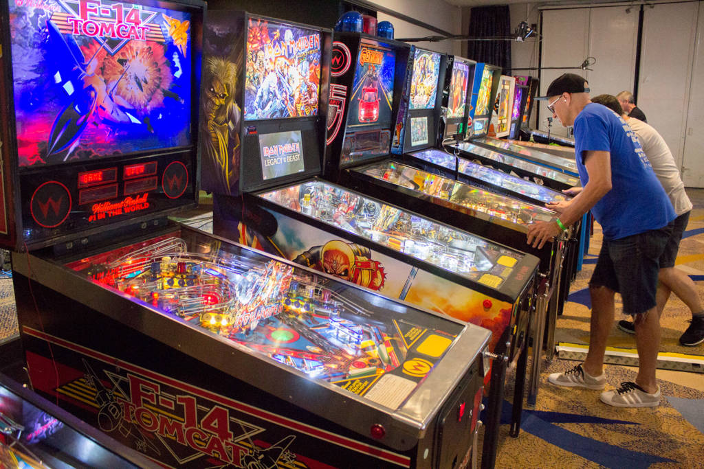 The main tournament machines