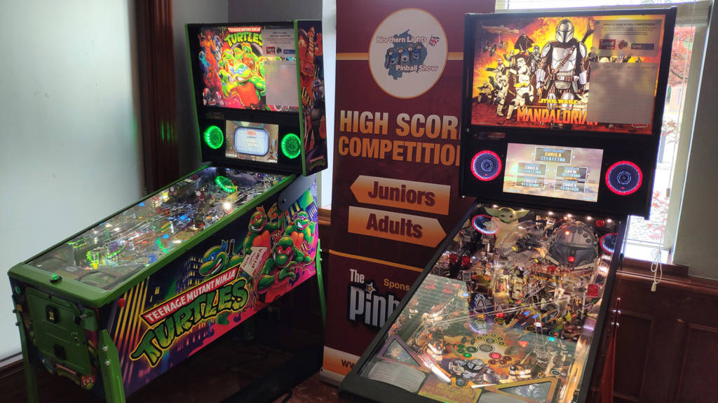 The two High Score Competition machines