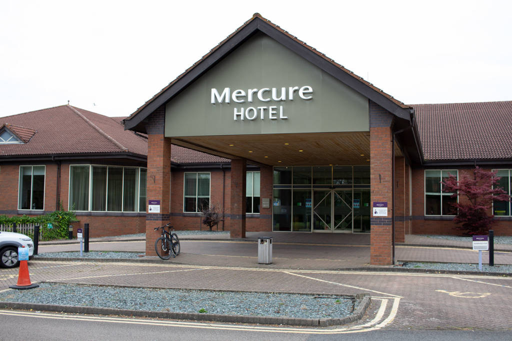 The Mercure Daventry Court Hotel - home of UK Pinfest