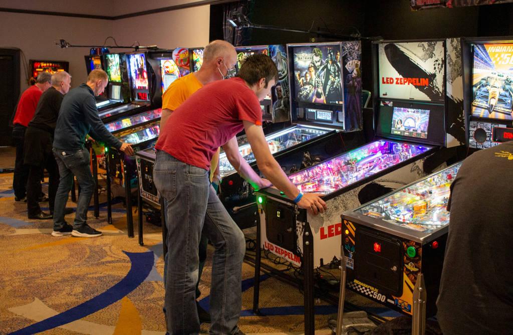 The UKPinfest Battle Tournament machines