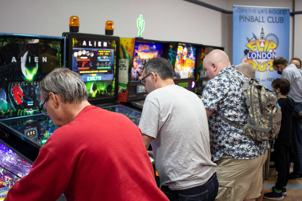 More of the UKPinfest games