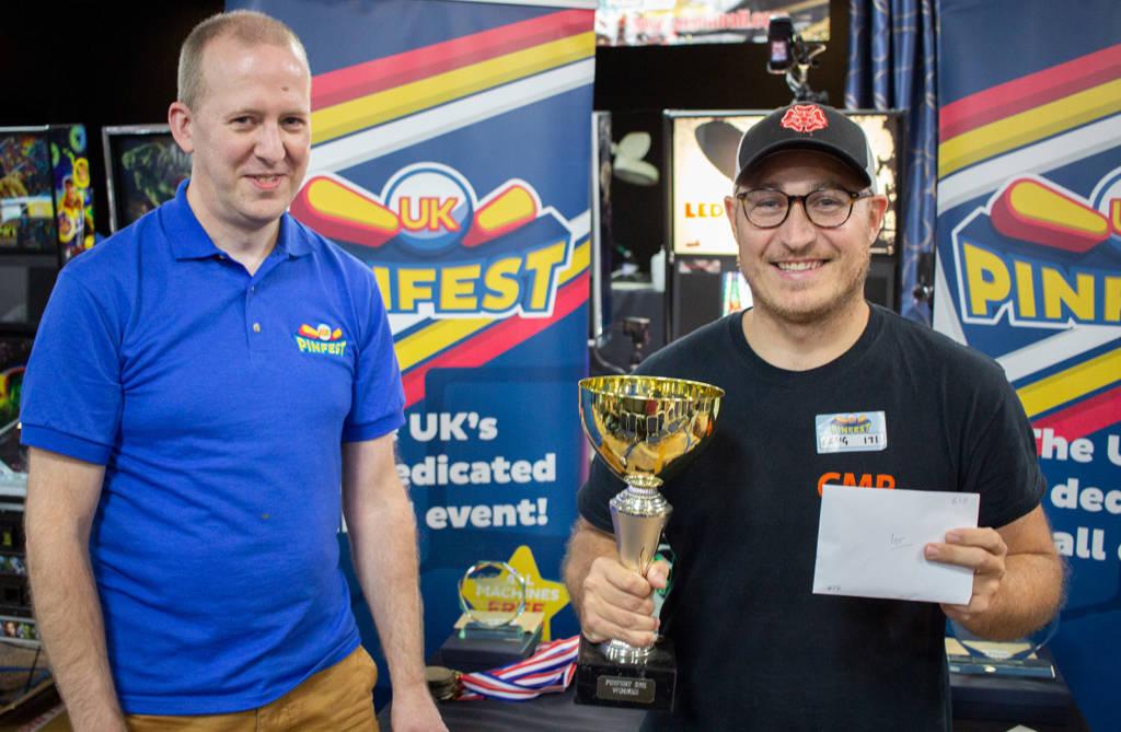UKPinfest Battle winner, Craig Pullen