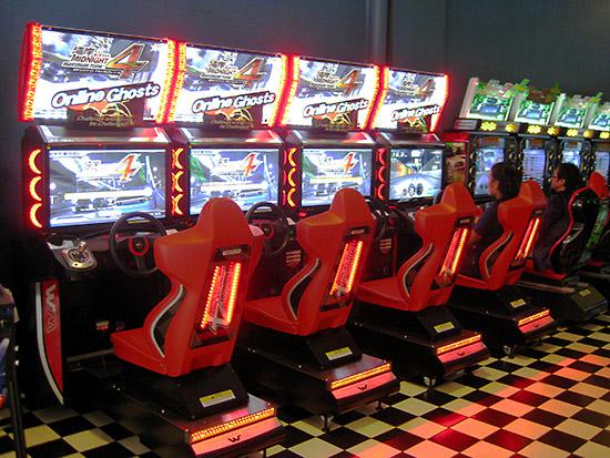 Four Midnight 4 Maximum Tune racers from Bandai Namco