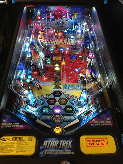 The playfield