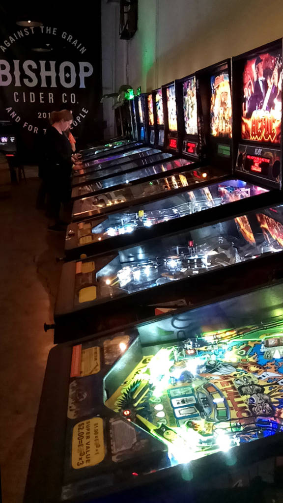 The pinball line-up