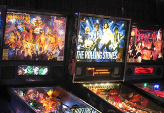 Pinball at Brauer House in Lombard