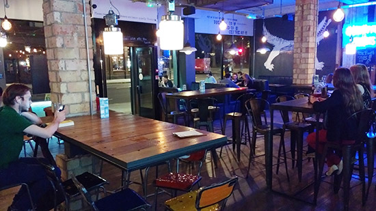 The interior of BrewDog Shepherd's Bush