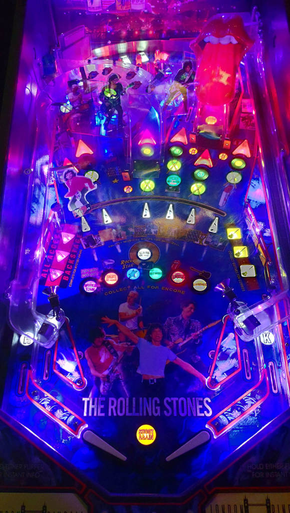 The playfield of The Rolling Stones