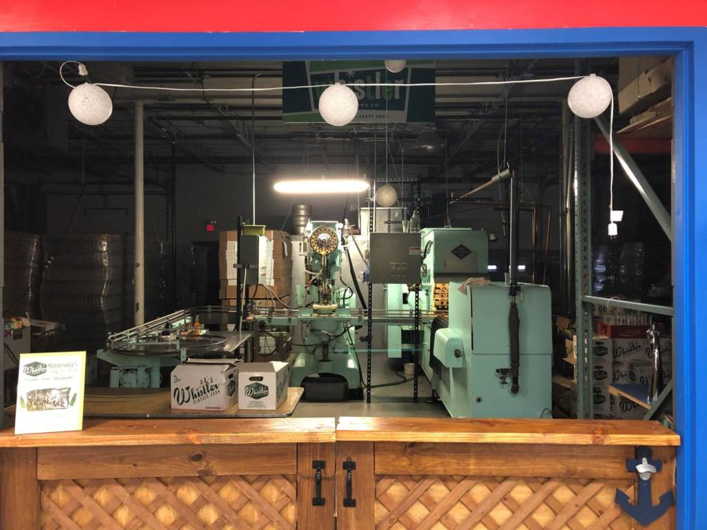Yep, that's soda bottling machinery right there