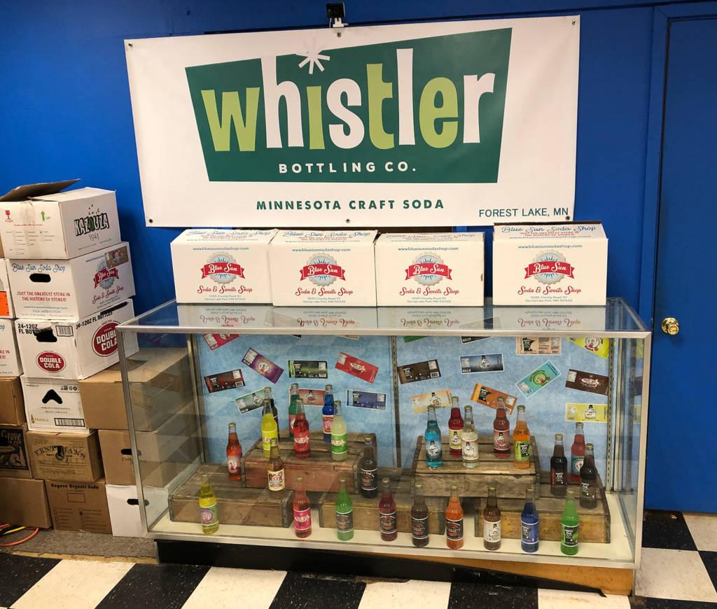 Whistler soda flavours
