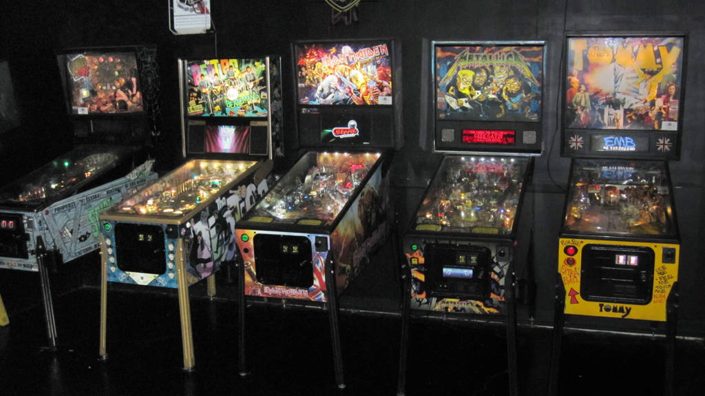 The five pinballs at Brauer House