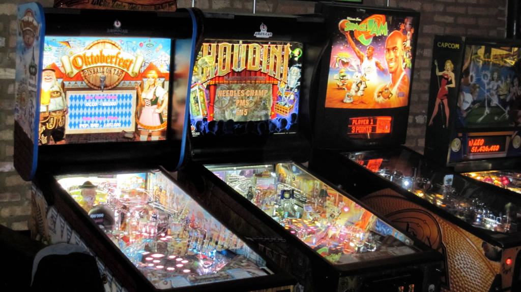 Machines at Emporium Arcade Bar (Logan Square)