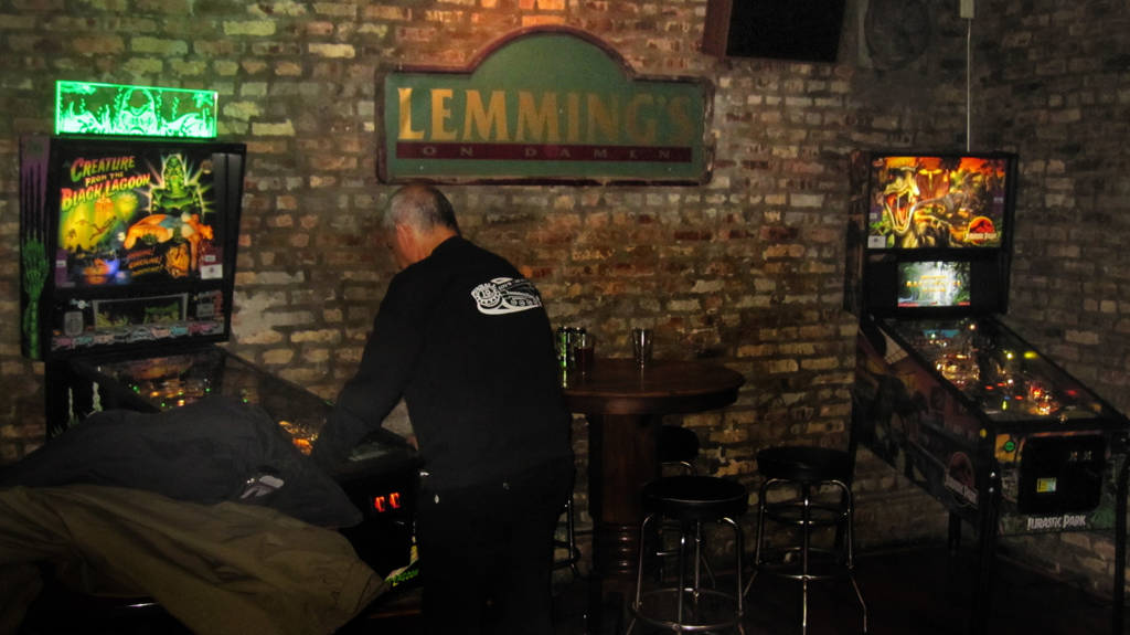 The two games at Lemming's Tavern