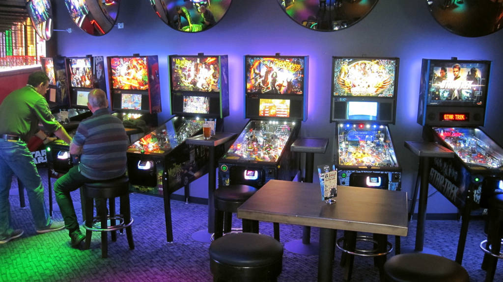 The seven games at Lucky Strike Social