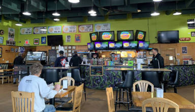 The interior of Epic Deli in McHenry, Illinois