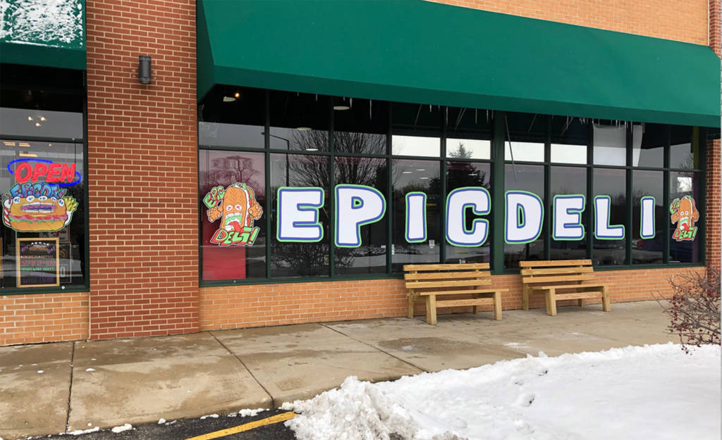 Epic Deli in McHenry, Illinois