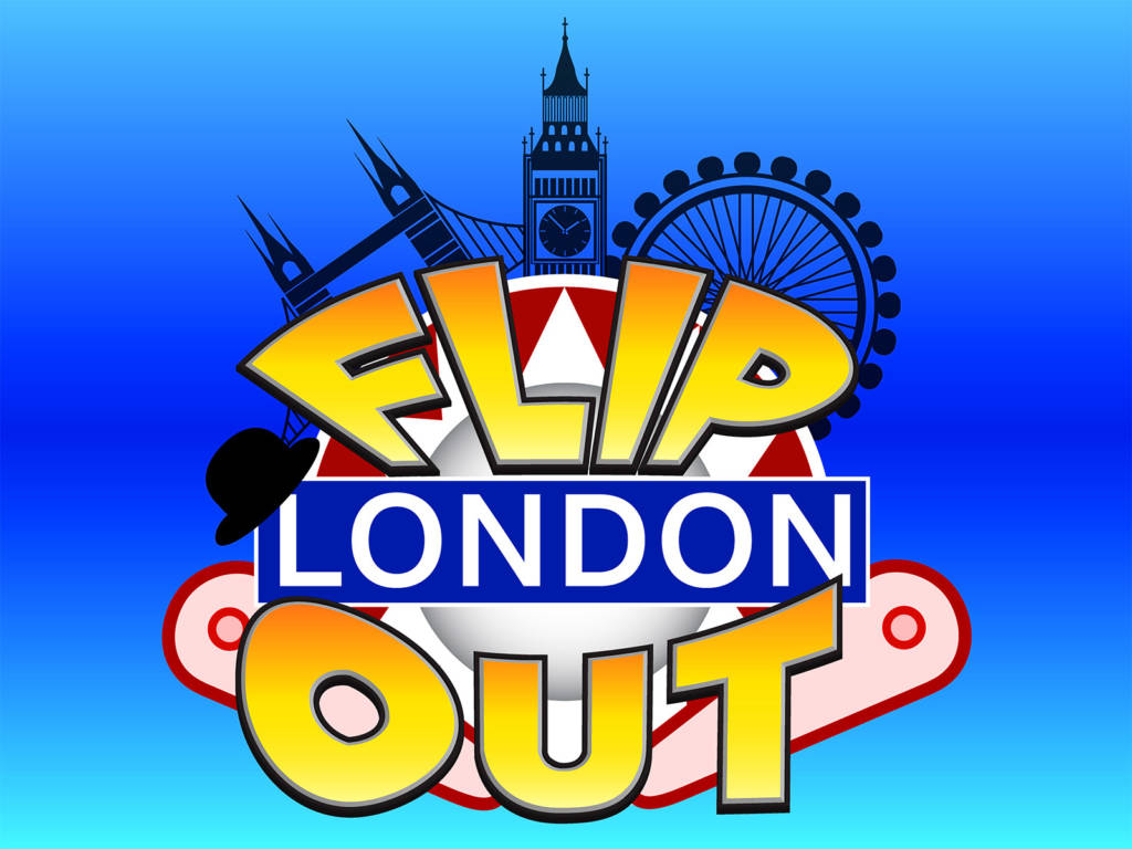 The Flip Out London logo