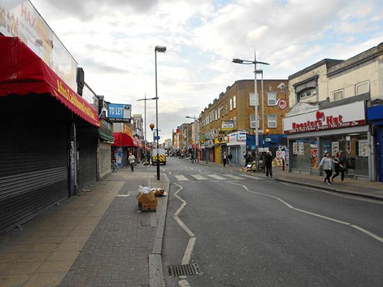 Rye Lane in Peckham