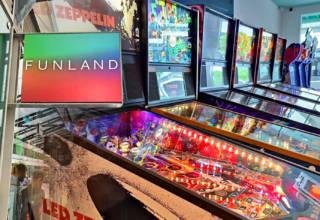 Funland Arcade in the Brunswick Centre, London