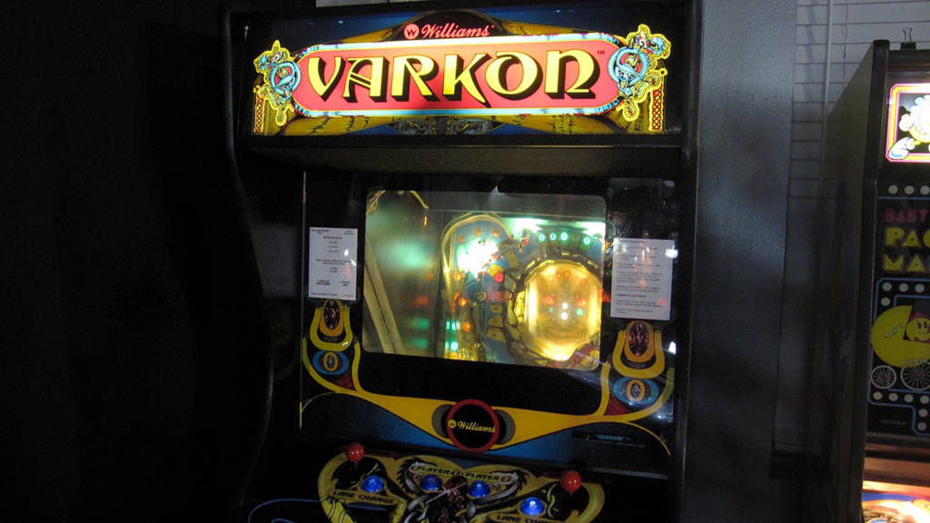 The very rare and clever Varkon pinball machine