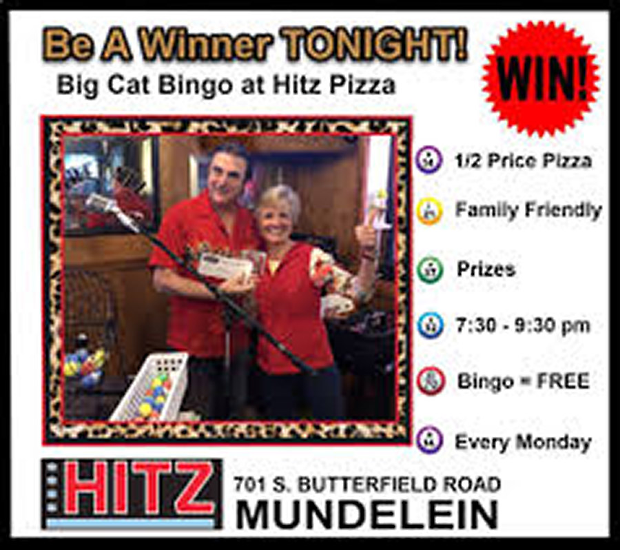 Promo for Bingo at Hitz