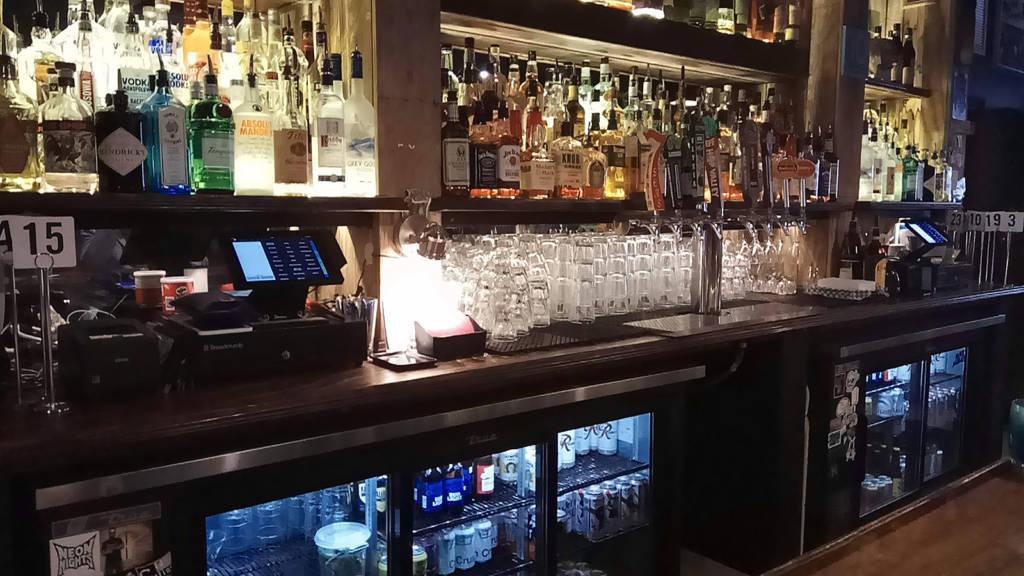 The bar at Jupiter