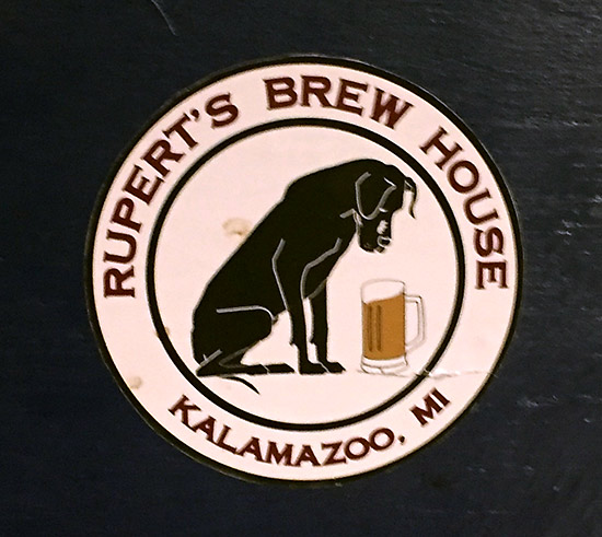 The logo for Rupert's Brew House