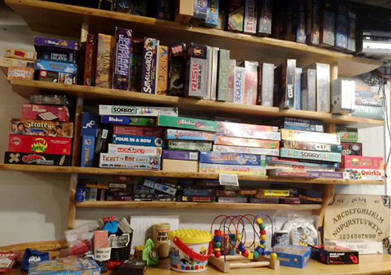 Board games at One Well