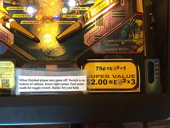 75c for X-Men