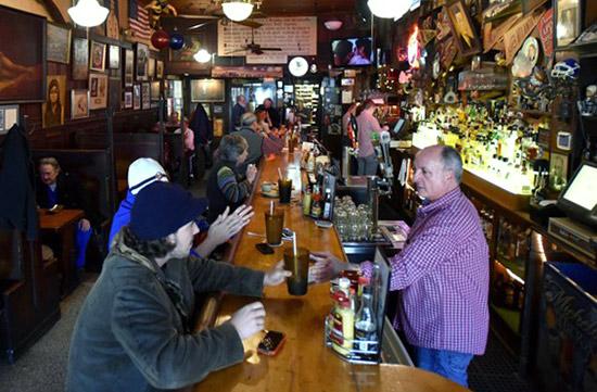 Inside Manuel's Tavern