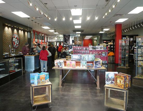 Meta-Games' retail sales area