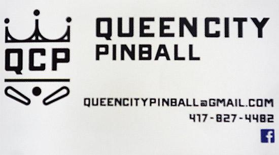 Queen City Pinball supplies the games