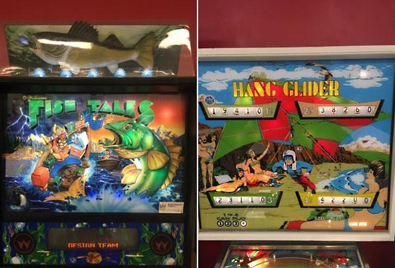 Fish Tales & Hang Glider