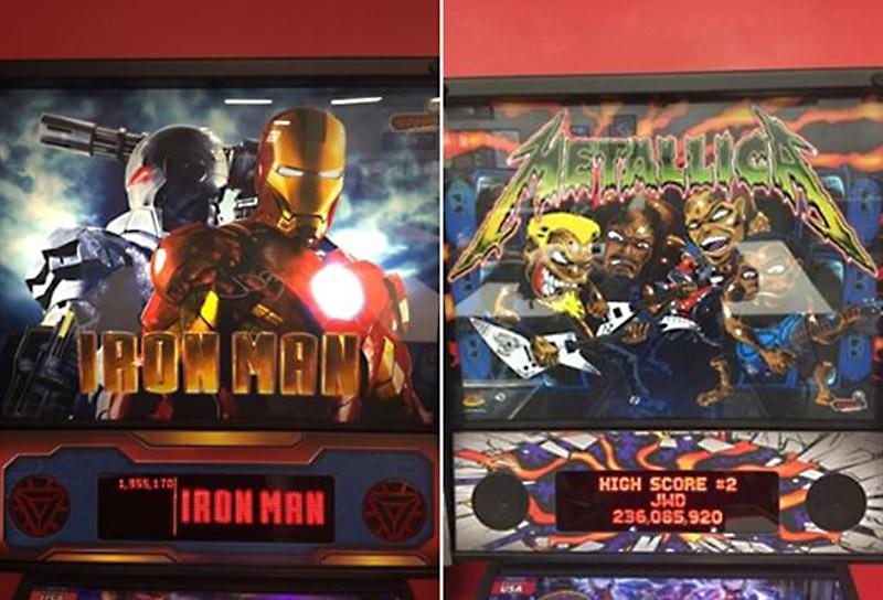 Iron Man and Metallica