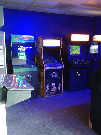Video games at Moonwalker Arcade