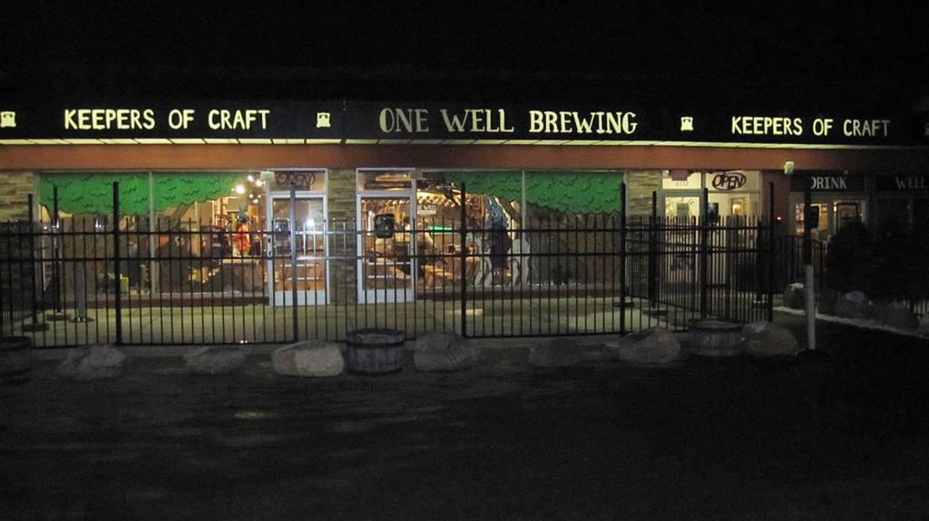 One Well Brewing in Kalamazoo, Michigan