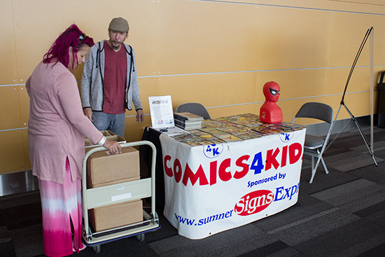 Comics4Kids' stand